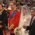 Royal Wedding: Il Principe William e Kate Middleton a Westminster Abbey
