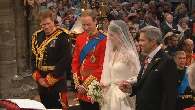 Royal Wedding: il Principe William e Kate Middleton at Westminster Abbey 3