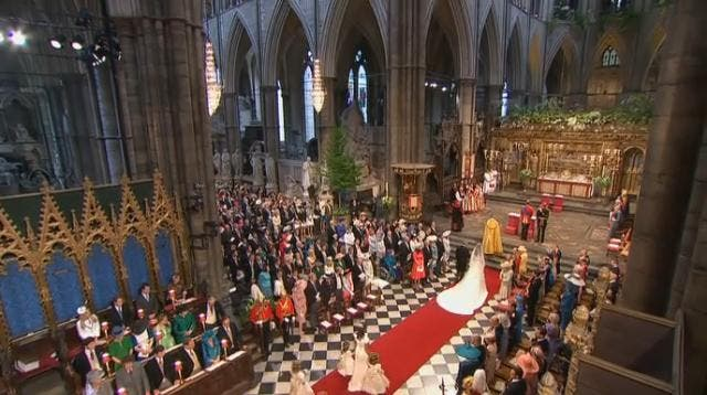 Royal Wedding: il Principe William e Kate Middleton at Westminster Abbey 4