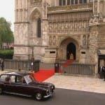 Royal Wedding: l'arrivo di Kate Middleton a Westminster Abbey