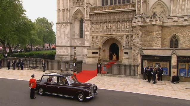 Royal Wedding: l'arrivo di Kate Middleton a Westminster Abbey