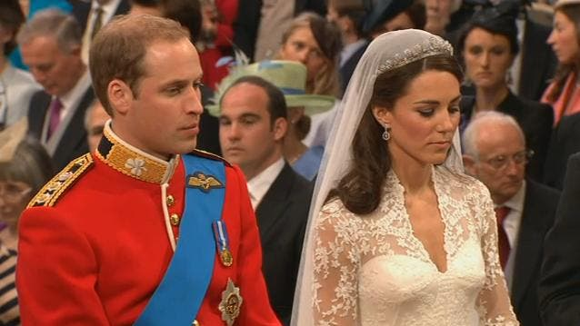 Royal Wedding: il Principe William e Kate Middleton at Westminster Abbey 6