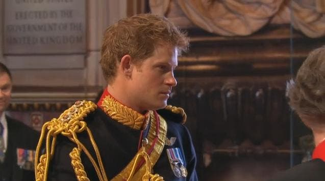 Royal Wedding: il Principe Henry a Westminster Abbey