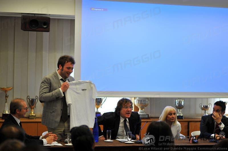 Eurovision Song Contest 2011: Rapahel Gualazzi, Massimo Liofredi e Raffaella Carrà
