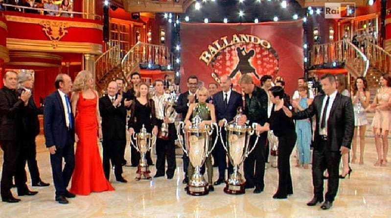 Ballando con le Stelle 7 - Premiazione di Kaspar Capparoni