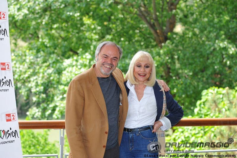 Eurovision Song Contest 2011: Raffaella Carrà e Sergio Japino 2