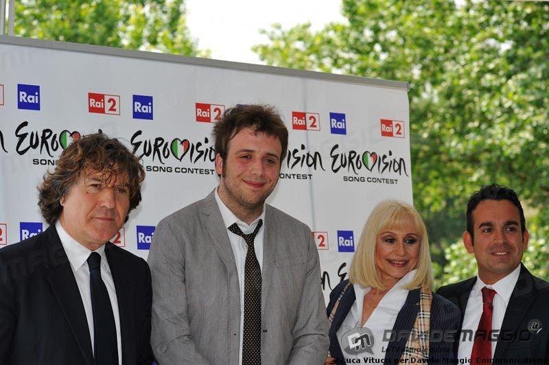 Eurovision Song Contest 2011: Massimo Liofredi, Raphael Gualazzi e Raffaella Carrà