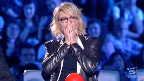 Maria De Filippi nella prima puntata di Italia's Got Talent 2