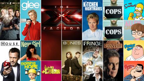 Il palinsesto Fox per l'autunno 2011
