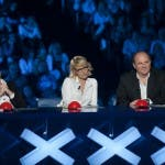 Italia's Got Talent 2: i giudici Rudy Zerbi (sx), Maria De Filippi e Gerry Scotti