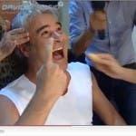 Reazione a Catena, Backstage con Pino Insegno