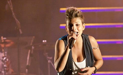 Emma Marrone al Nokia Amici in Tour