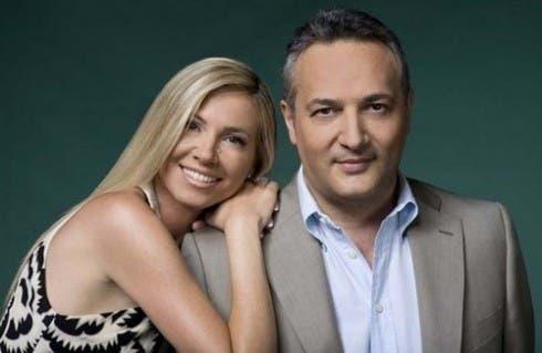 Federica Panicucci e Claudio Brachino