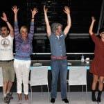 X Factor 5 - Elio, Simona Ventura, Morgan e Arisa