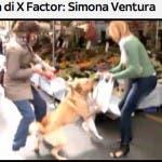 Simona Ventura e il cane Ugo