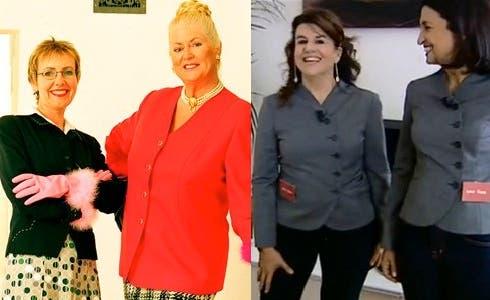 Le protagonista di Case da incubo (a sinistra) e SOS Casa (a destra)