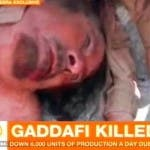 Al Jazeera, Gheddafi morto