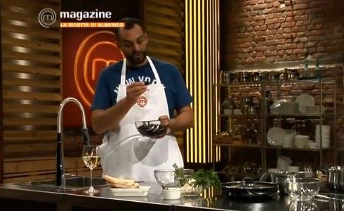 Masterchef Magazine, Alberico presente la sua ricetta