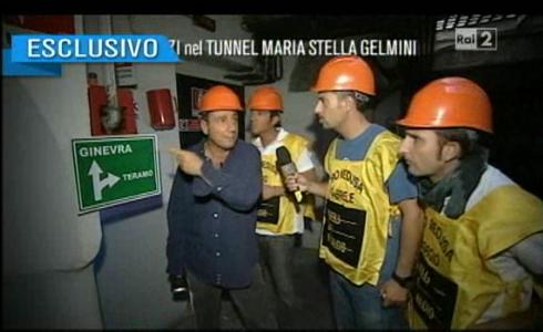 Il tunnel della Gelmini a Quelli che il calcio...