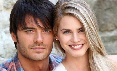 Giulio Berruti e Vanessa Hessler in La ragazza Americana