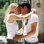 Antonia Liskova ed Emilio Solfrizzi in Tutti pazzi per amore 3