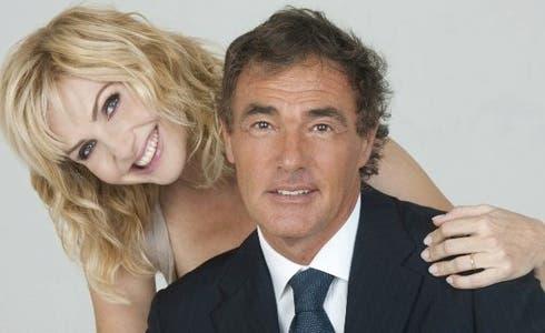 Lorella Cuccarini e Massimo Giletti