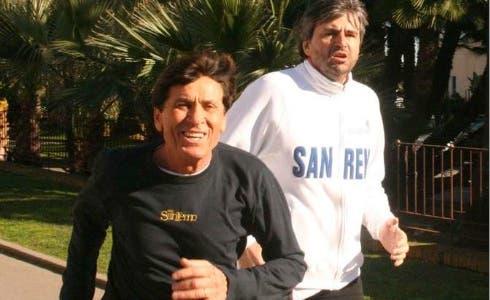Gianni Morandi e Gianmarco Mazzi