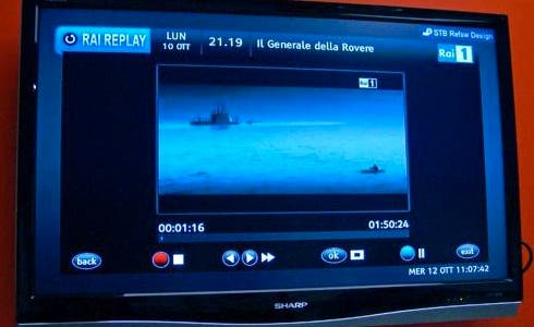 Rai Replay su TV (da DDay)