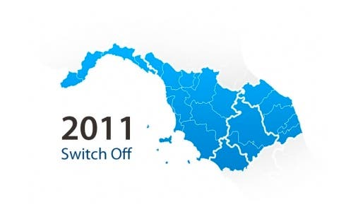 Switch off Liguria, Toscana, Umbria e Marche