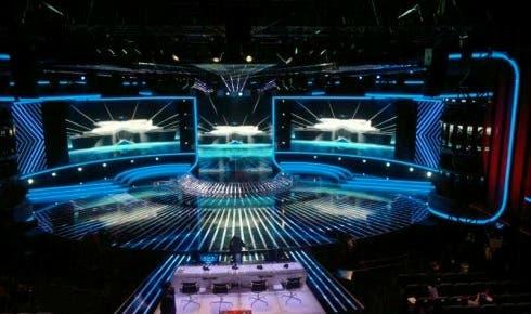 X Factor 5, la scenografia