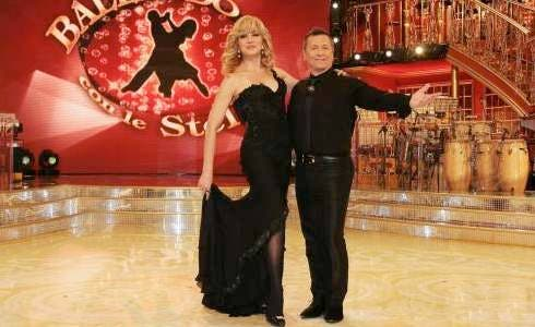 Milly Carlucci e Paolo Belli
