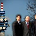 Mediaset - Piersilvio Berlusconi, Fedele Confalonieri e Giuliano Andreani