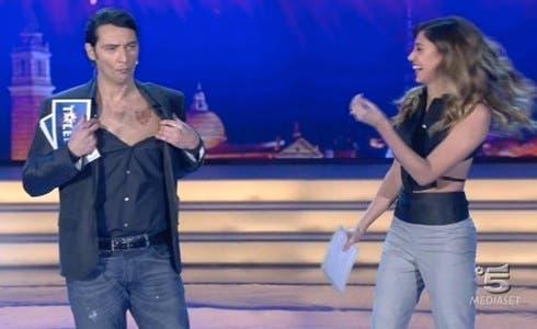 Simone Annichiarico e Belen Rodriguez