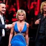 Carmen Russo con Nicola Savino ed Enzo Paolo Turchi