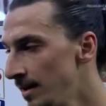 Zlatan Ibrahimovic insulta Vera Spadini di Sky Sport
