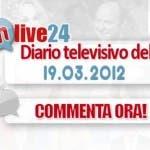 Diario della Televisione Italiana del 19 marzo 2012