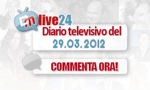 Diario della Televisione Italiana del 29 marzo 2012