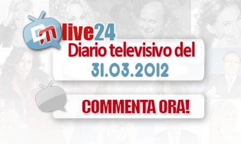 Diario della Televisione Italiana del 31 marzo 2012