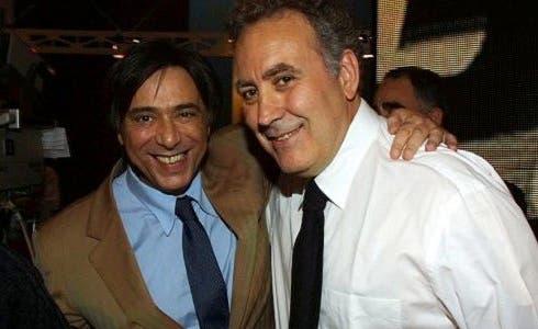 Carlo Freccero e Michele Santoro