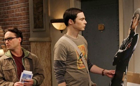 The Big Bang Theory - Sheldon e Zacary Quinto