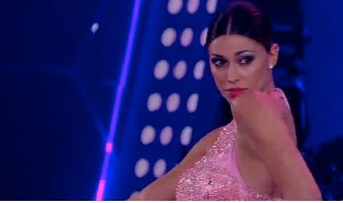 Belen Rodriguez durante La Pantera Rosa