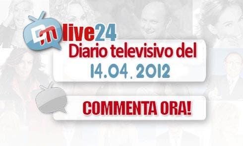 Diario della Televisione Italiana del 14 aprile 2012