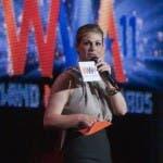 Vanessa Incontrada e Carlo Conti ai Wind Music Awards 2012