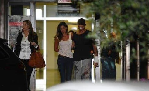 Belen e Stefano all'Ospedale