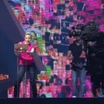Valentina Monetta prova The Social Network Song a Baku