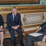 Lorenza Lei, Paolo Garimberti, Giorgio Napolitano