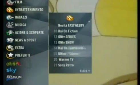 Fastweb TV