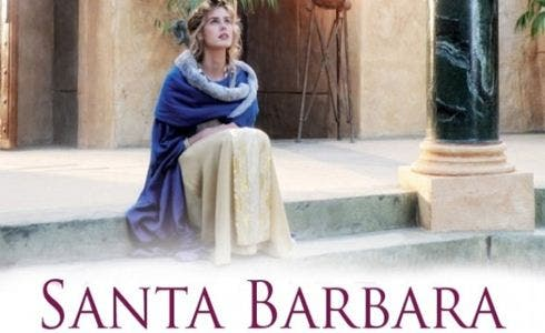 Vanessa Hessler è Santa Barbara