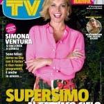 Simona Ventura - copertina Sorrisi 35