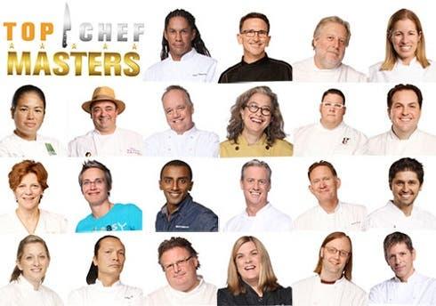 Top Chef Masters, gli chef